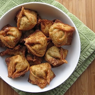 Stuffed Pork Wontons.
