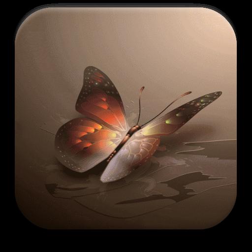 蝴蝶動畫壁紙 個人化 App LOGO-APP開箱王