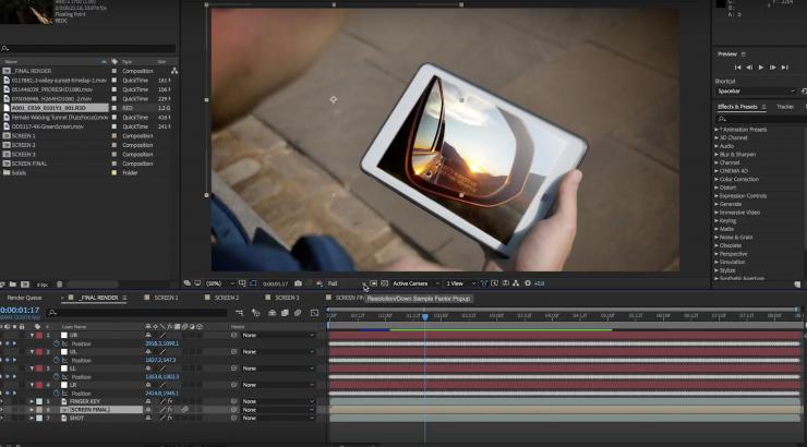 Khóa đào tạo kỹ xảo Video trên After Effect uy tín tại Nam Từ Liêm