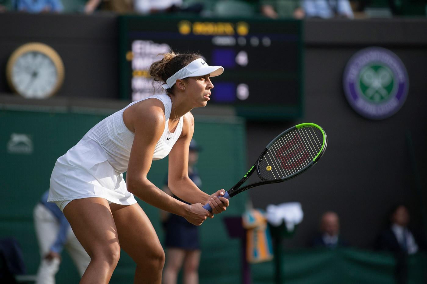 麦迪逊基丝可以说是目前在WTA赛场上最强大的女选手之一