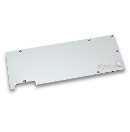 EK bakplate for EK-FC Titan X / 980 Ti, nikkel