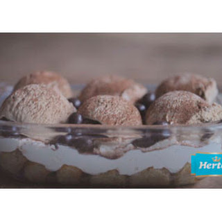 Feestelijke Tiramisu Met Koffie-ijs
