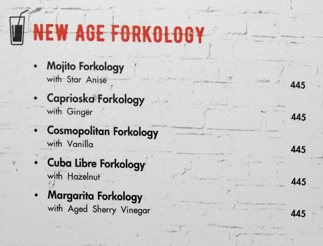 Fork You menu 1