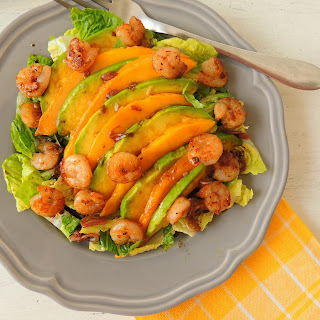 Shrimp, Avocado And Mango Salad