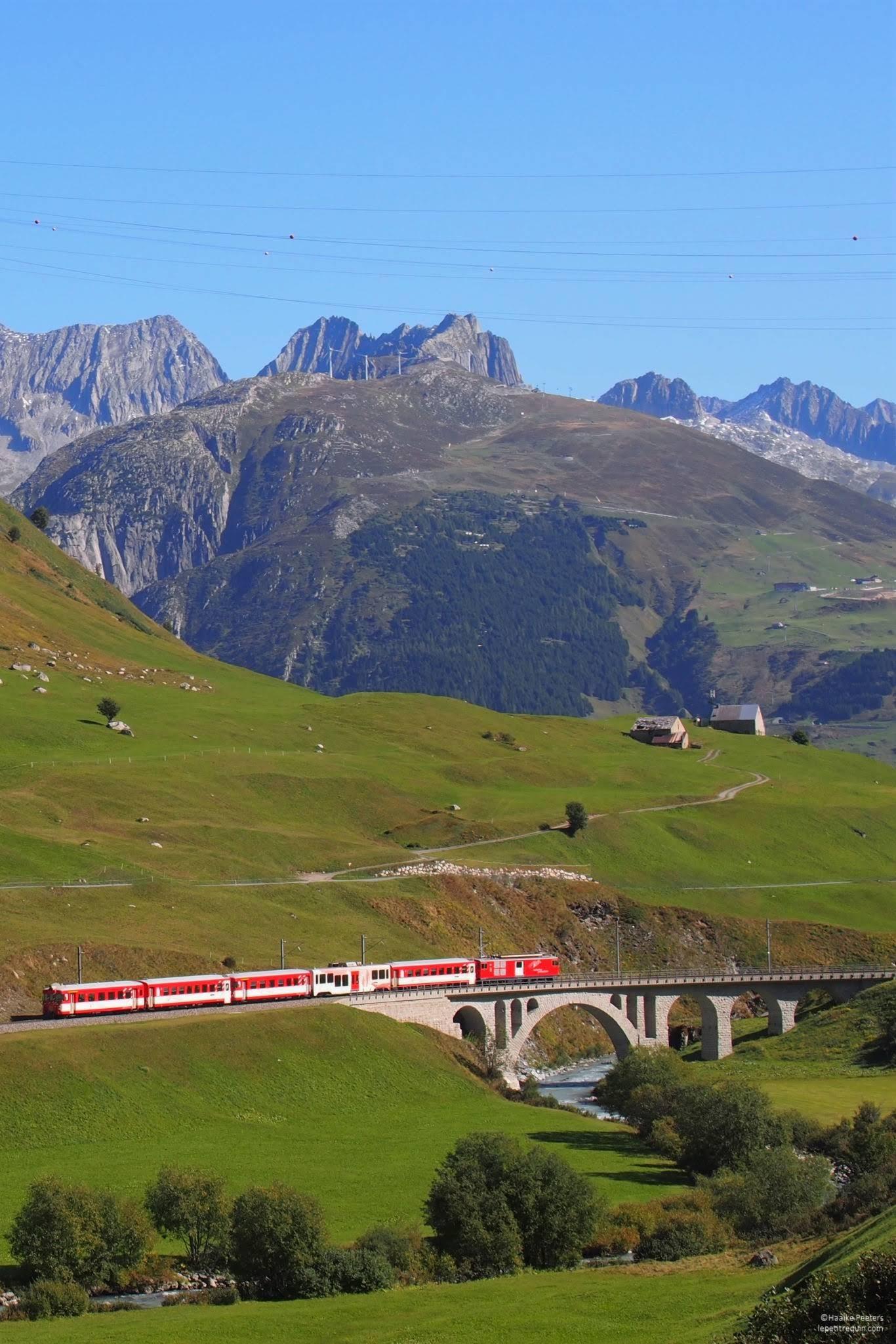 Matterhorn-Gotthardbahn Furkapass (Le petit requin)