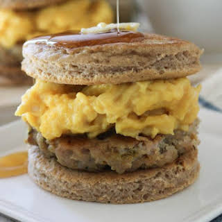 Pancake Breakfast Sandwiches.