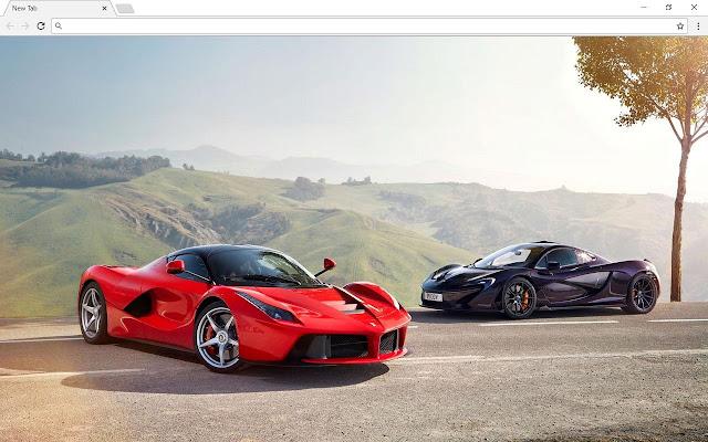 Ferrari Cars New Tab