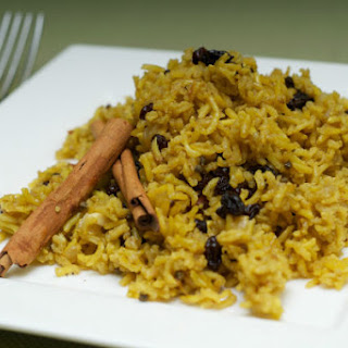 Yellow Basmati Coconut Rice Pilaf