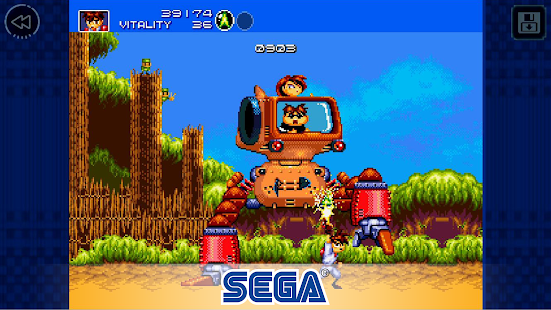 Gunstar Heroes Classic Screenshot