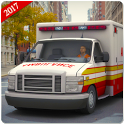 Emergency Ambulance Rescue Simulator 2019 icon