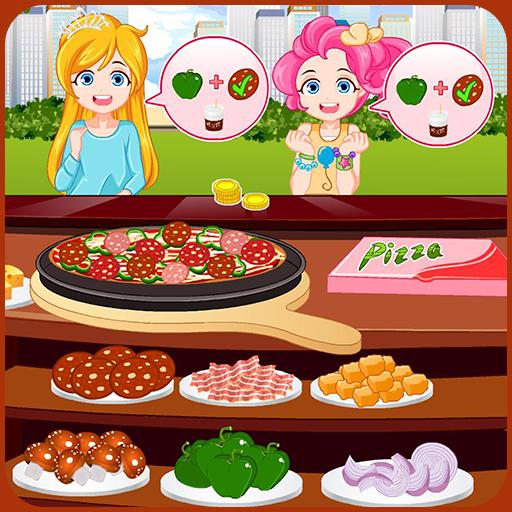 Pizza maker restaurant Icon