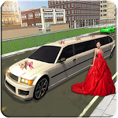 Limo Bridal Parking Simulator in Driving Transport