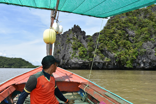 Longtail boat ride to Koh Khao Yai