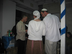 Photo: Aviv Dorot, the Cohen, is Chava Leah's sister Tzofia's husband