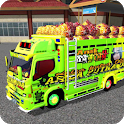 Bussid Mod Truck Canter Indonesia icon