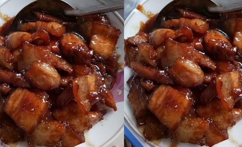 Cách làm thịt ba chỉ khìa nước dừa thơm ngon, màu đẹp hấp dẫn