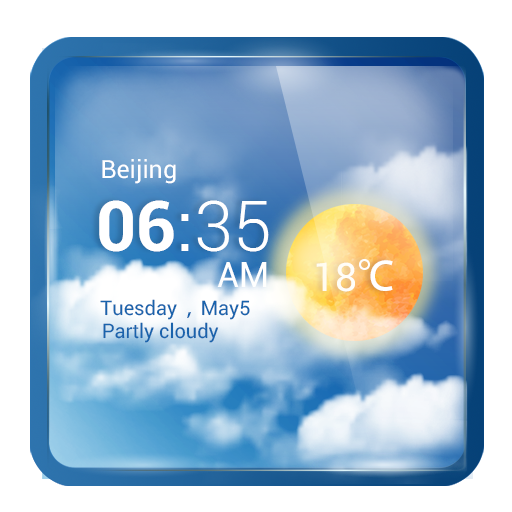 Global Weather Forecast Widget App Icon