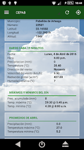 AppClima screenshot 2