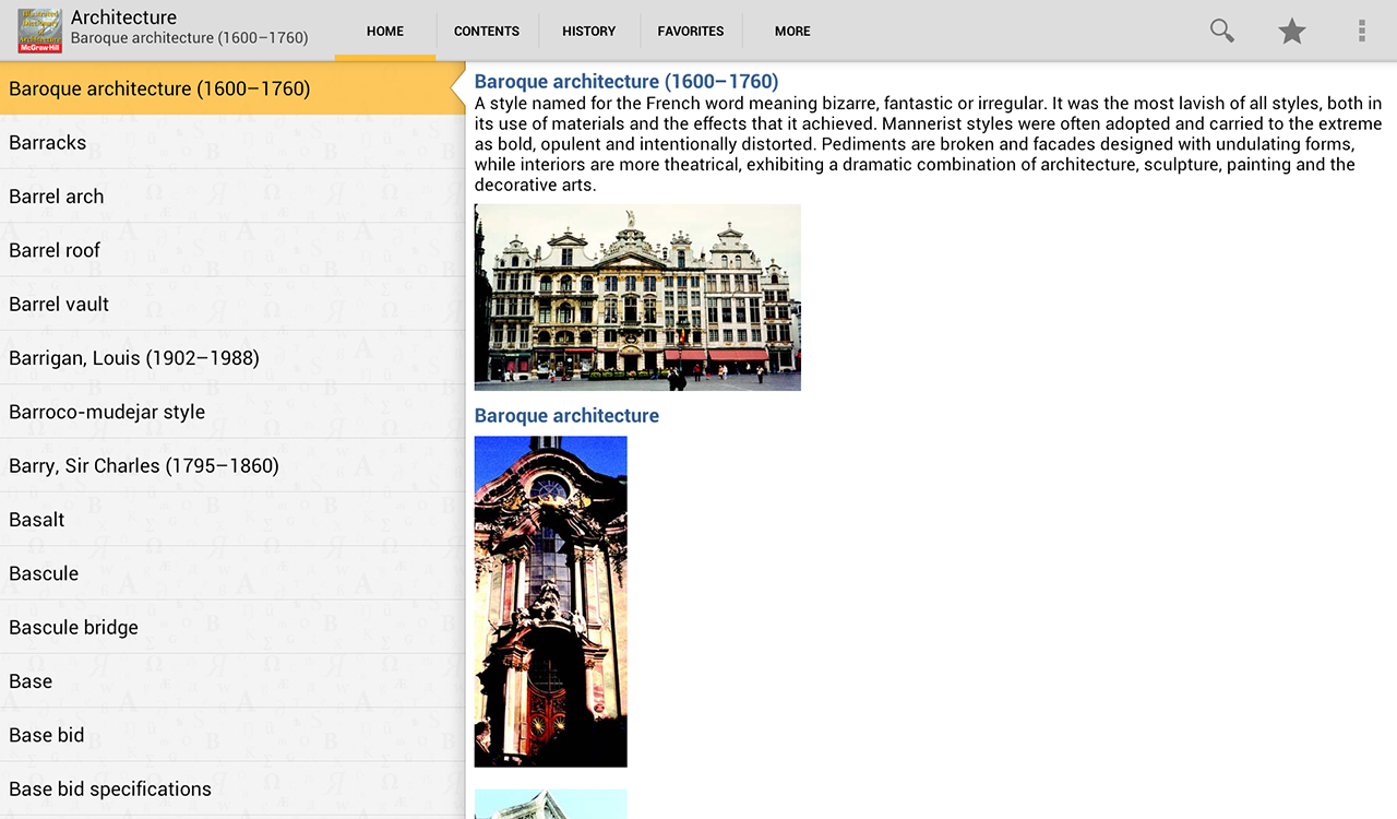 Dictionary of Architecture TR- screenshot