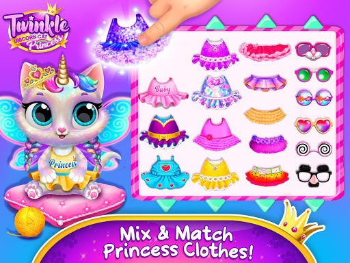 Twinkle - Unicorn Cat Princess screenshots 9