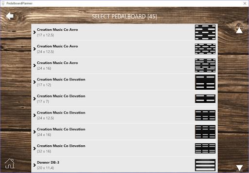PedalboardPlanner 1.0.333.19955 screenshots 2