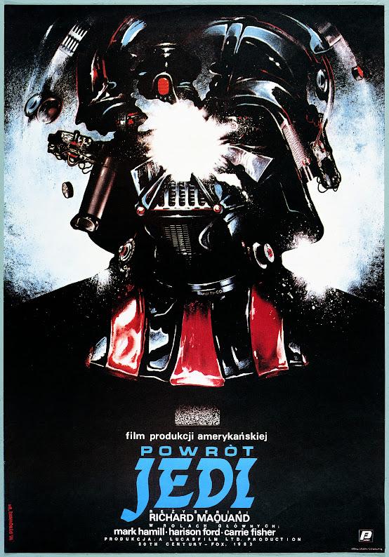 Polski plakat filmu Gwiezdne Wojny - Powrót Jedi