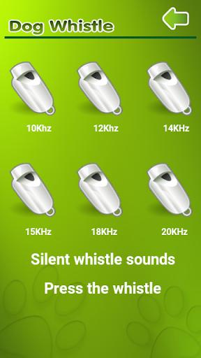 dog whistle, trainer 2019 screenshot 3