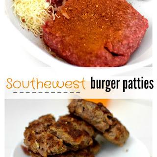 Southwest Burger Patty
