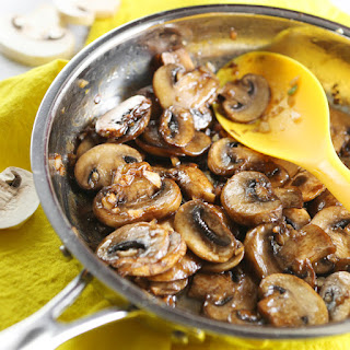 Soy Sauce Glazed Mushrooms