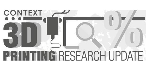 Эксперт в области исследований рынка, компания CONTEXT, недавно выпустила новый доклад о состоянии мирового рынка 3D-печати