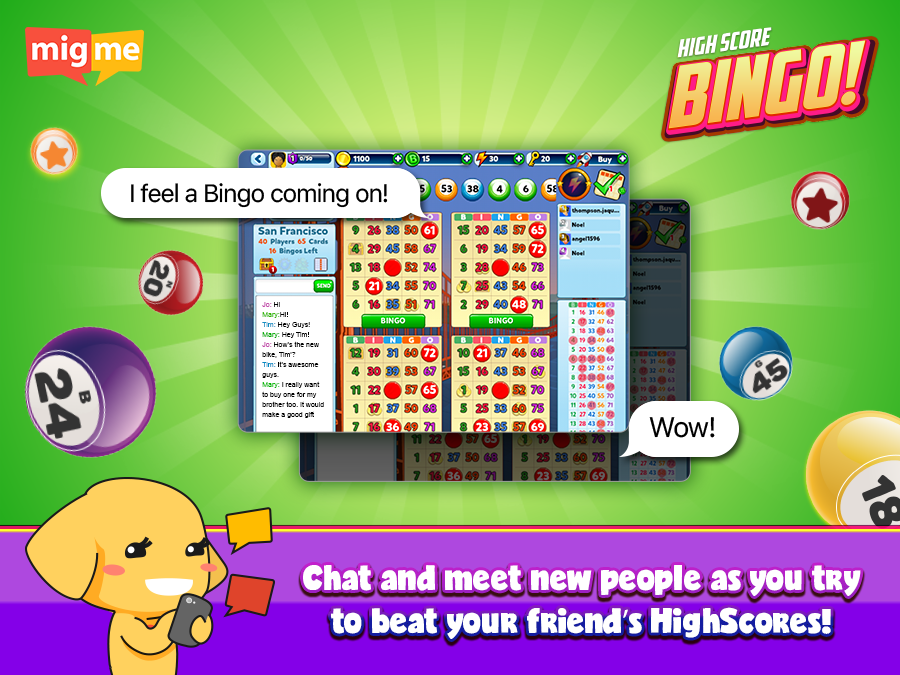 HighScore Bingo and Slots- screenshot
