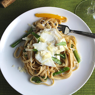 Linguine with Cod and Asparagus