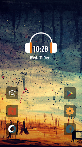 android Abstract Aesthetic Art theme Screenshot 0