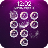 lock screen - bubble