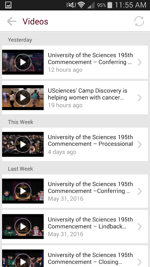 University of the Sciences- screenshot
