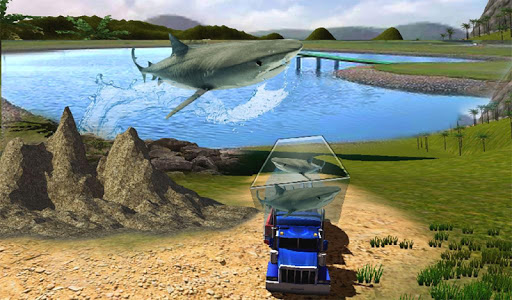 Transport Truck Shark Aquarium screenshot 13
