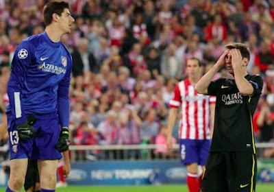 Le grand huit de Courtois contre Messi ?