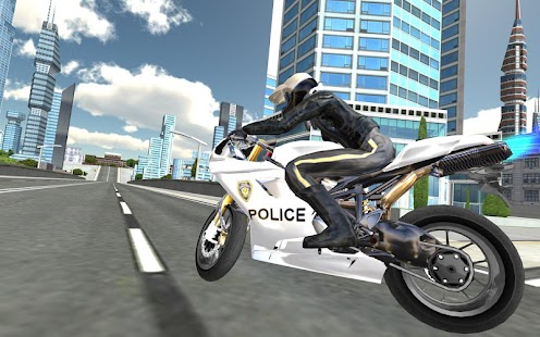 Police Motorbike Traffic Rider - náhled
