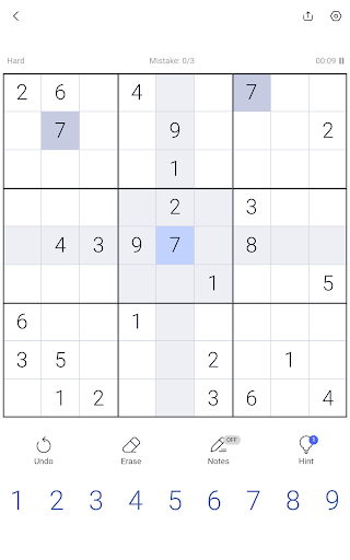 Sudoku - Sudoku puzzle, Brain game, Number game screenshots 23