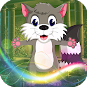 Best Escape Games 61 - Gray Squirrel Escape Game icon