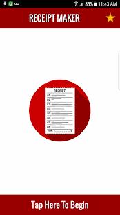 Receipt Maker (Free App) - náhled