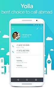 Yolla Free International Calls v1.65