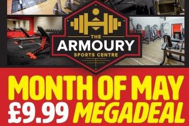 Amazing offer at The Armoury