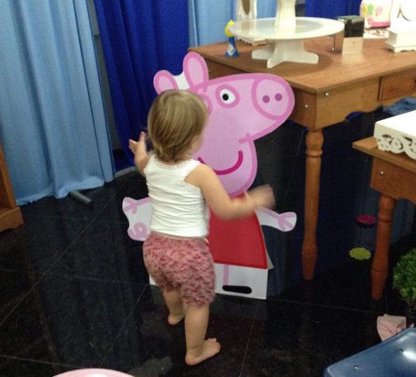 Brenda e Peppa Pig