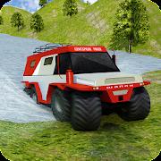 8 Wheeler Russian Truck 3D Sim