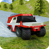 8 Wheeler Russian Truck 3D Sim: Offroad Jeep Rally