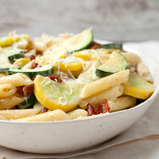 Summer Vegetable Carbonara
