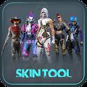 FFF FF Skin Tool, Elite pass Bundles, Emote, skin icon