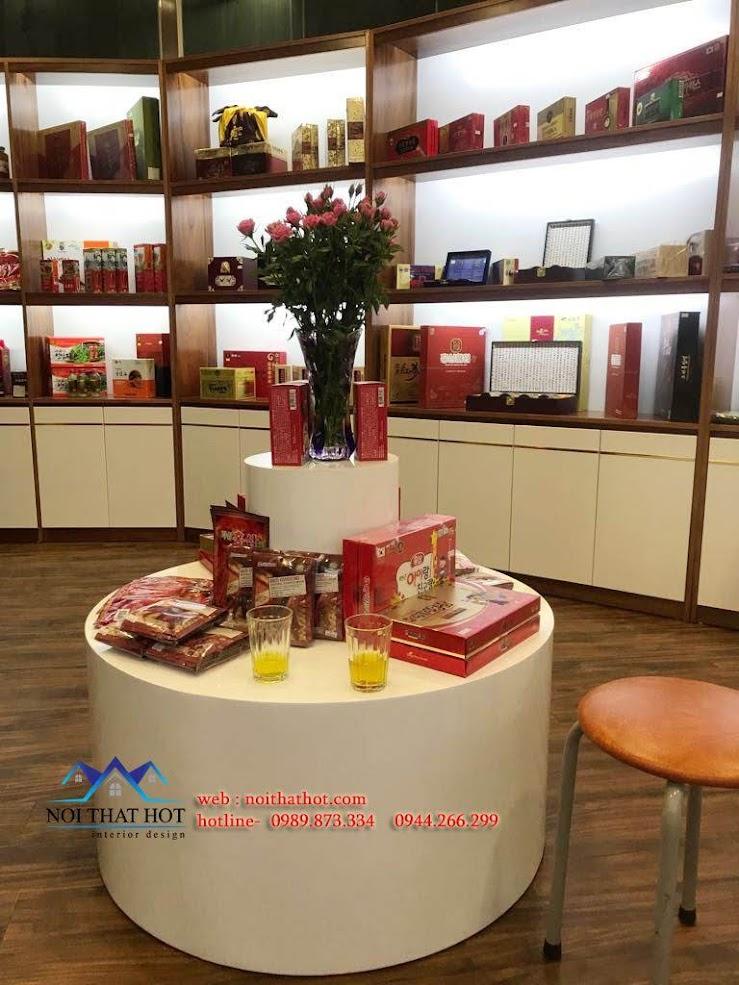 Thiết kế cửa hàng sâm Ginsenplaza.com 7