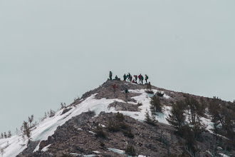Photo: The Idaho Summits crew on Peak 10,112